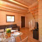 domki drewniane od dzisiaj pustkowo mała frajda